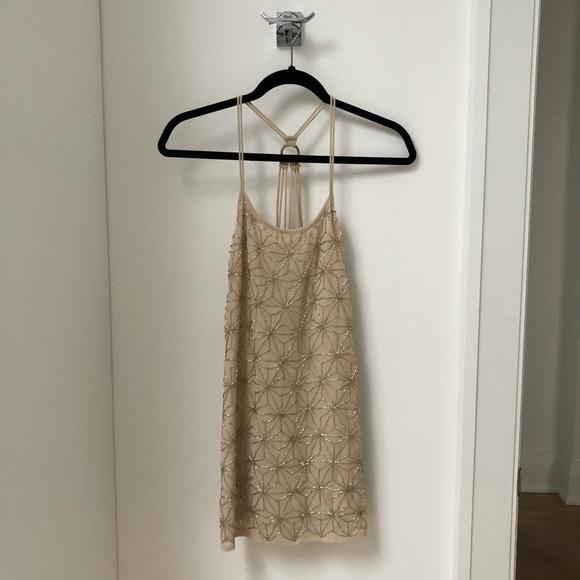 Top Shop Sequin Mini Dress. Size 0 US.